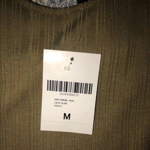 Brand New Forever 21 Olive Green Dress